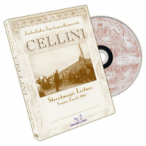 CELLINI'S STREET MAGIC LECTURE DVD