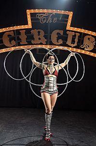 Ms Merlin - Hula Hoop Show Cabaret