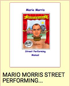 MARIO MORRIS STREET PERFORMING MANUAL