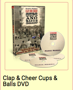 Clap and Cheer Cups and Balls by Mario Morris
