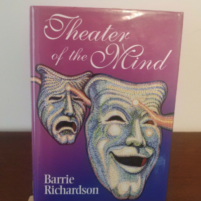 VERY RARE Theater Of The Mind Barrie Richardson HB 1st Mentalism Magic .